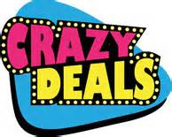 wild and crazy deals